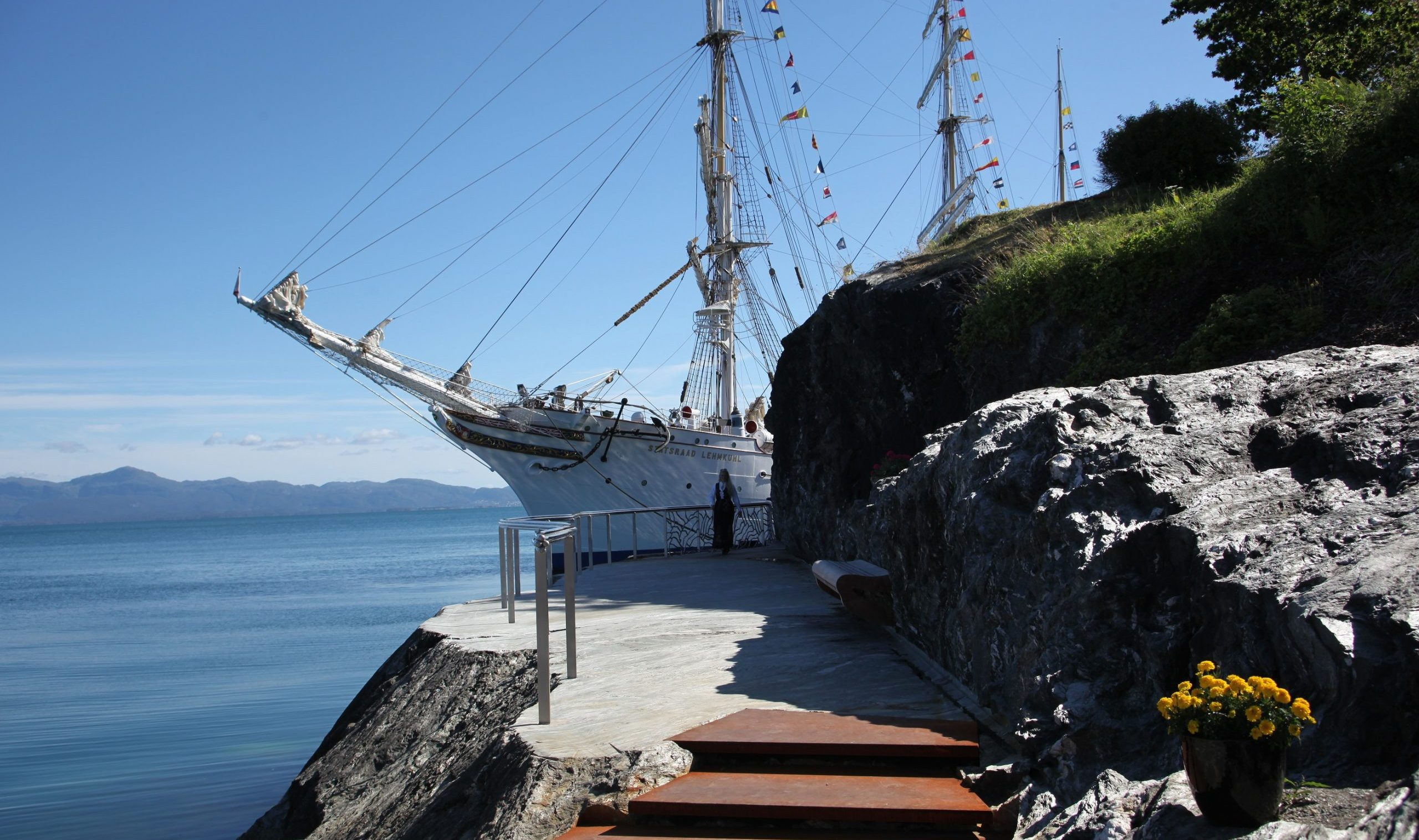 Statsraad Lehmkuhl at Solstrand